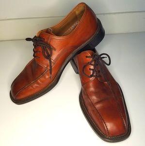 Magnanni genuine leather brown shoes eu42.5 us9.5m